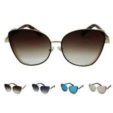 Para mujer Oversized de Ojo de Gato Gafas de sol de moda diseñador Sin Montura Gafas UV400 Reino Unido