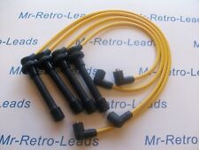 Jaune 8 mm Performance Ignition Leads Honda CRX 1.6i Vti MKIII Targa SACT conduit