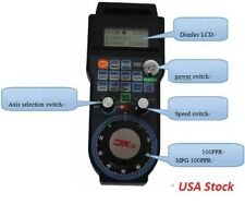 US-Wireless-Mach3-MPG-Pendant-LCD-Handwheel-controller-for-CNC-Mach3-4-axis