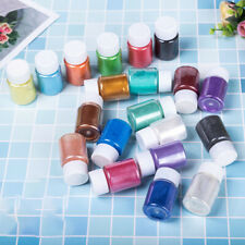 12/20 Colors Set Mica Pigment Powder for Nail Cosmetics Resin Colorant Dye Diy
