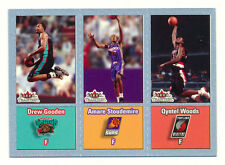 2002-03 FLEER TRADITION AMARE STOUDEMIRE/WOODS/GOODEN RC CRYSTAL SILVER #44/199