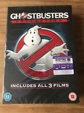 Ghostbusters 1-3 Collection DVD 1+2 with Bill Murray and 3 with Melissa McCarthy