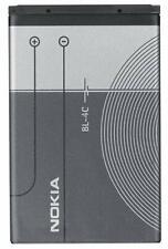 GENUINE NOKIA BL-4C BATTERY FOR Nokia 7610 6260 3500 2650 5100 6100 6300 7200