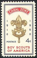 Canal Zone 1960 Scouts USA/50th Anniversary/Scouting/Youth/Leisure 1v (n23988)