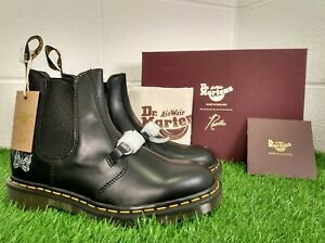 Dr Martens Needless 2976 Snaffle Mens Boots Doc Black 9 EU 43 Made in England