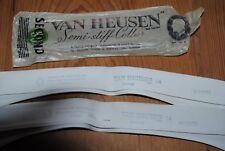 2 Van Heusen egyptian cotton collar size 14 seconds