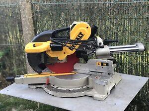 Dewalt DW717XPS 250mm Sliding Compound Mitre Saw 110V