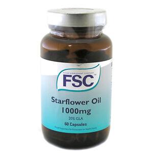 FSC Starflower Oil 1000mg 60 Capsules