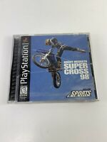 Jeremy McGrath Supercross 98 Sony PlayStation 1 Video Game Acclaim Sports PS1