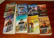 B J Daniels  - lot of 8 books