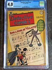 DETECTIVE COMICS #124 CGC VG 4.0; OW; classic Joker cover!