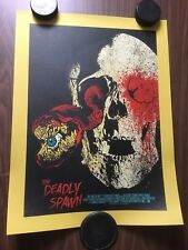 """The Deadly Spawn by Chris Garofalo18"""" x 24"""" hand-numbered & signed screen 38/50"""