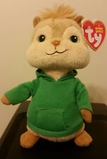 Ty Beanie Baby ~ THEODORE ~ Alvin and the Chipmunks ~ MINT (STICKER) ~ NEW