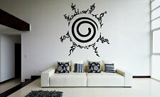 Wall Vinyl Sticker Decal Anime Manga Mark Nine-Tailed Demon Fox Naruto V018