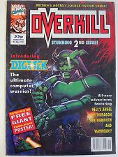 Overkill #2 (Marvel May 8 1992 ) Hell's Angel Digitek Dan Abnett Geoff Senior ++