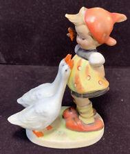 New ListingOriginal Vintage Hummel Goebel West Germany Figurine 47 3/0 Goose Girl Full Bee