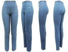 Stretchjeans - Damen Hosen Gummizug - Denim 97% Baumwolle Jeans alle Gr. 38-54