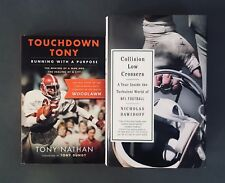 Touchdown Tony & Collision Low Crossers - 2 Football Book Set
