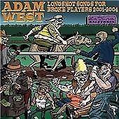 Adam West - Longshot Songs for Broke Players 2001-2004 ( CD 2006 ) NEW / SEALED