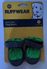 "RUFFWEAR SUMMIT TREX DOG BOOTS 1.75"" 44mm MEADOW GREEN Pair 2 Booties Hiking NEW"