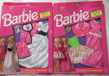1993 Barbie Fantasy Fashions Nip lot 0f 2 different fashions