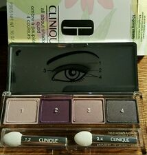 Clinique All About Shadow Quad in Going Steady (10) Full Size and Boxed 4.8g
