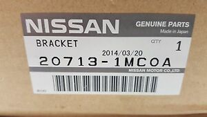OEM Infiniti Exhaust Mount Bracket 20713-1MC0A FX50 M56 Q70 *NEW* FREE SHIPPING