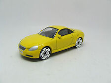 LEXUS SOARER SC 430 V8 IN YELLOW MINT NEW REAL TOY