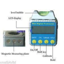 Digital Angle Gauge Meter Protractor Bevel Box Inclinometer 360°/4X90° STDJ103