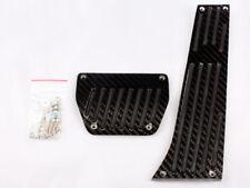* BMW BLACK CARBON AT PEDAL 2PCS E30 E36 E90 E92 E46 E82 E88 E85 E86 E89 Z3 Z4