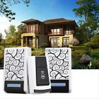 36 Chimes Songs 2 Receiver LED Waterproof Wireless Doorbell Remote Control 100M