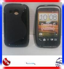 Pellicola+Custodia cover case WAVE NERA per HTC Desire C