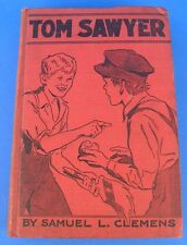 Vintage Tom Sawyer Samuel Clemens Mark Twain Goldsmith Publishing
