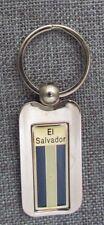 """El Salvador Flag Key Chain, Flag, 2"""", Steel/Metal , Souvenir"""