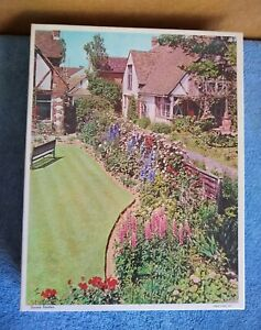 Vintage Whitman Jigsaw Puzzle, Sussex Gardens, NIB Factory Sealed, 750 Piece