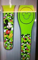 Disney MICKEY MOUSE Ultimate All Over Green Magic Band Magicband Parks New