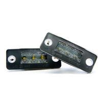 2 x LED Kennzeichenbeleuchtung für Audi A8 D3 Xenon Kennzeichen