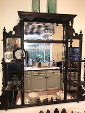 More details for victorian shelf mirror