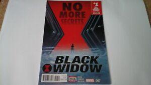 MARVEL COMICS: BLACK WIDOW - NO MORE SECRETS - #7 - DIRECT EDITION V#2