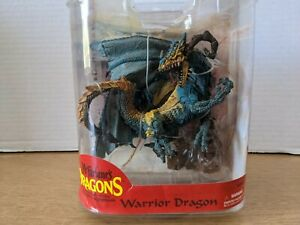 McFarlane's Dragons Warrior Dragon Series 7 The Fall Of The Dragon Kingdom Blue