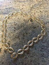 "Womens Gold Tone Chain  Belt 34"" Long"