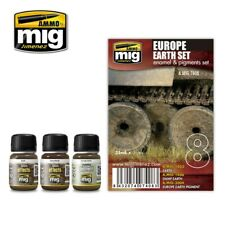 Ammo by Mig Weathering Set - Europe Earth Set A.MIG-7408