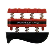 CanDo Digi-Flex hand exerciser-Red, light-Finger (3.0 lb) / hand (10.0 lb) - NEW
