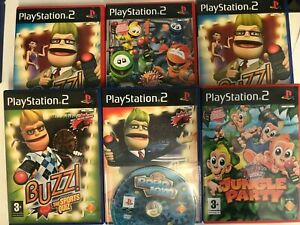 Various Buzz Games For The Playstation 2 Multi-Listing Take Your Pick