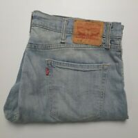 Levi's Men's 511 Light Blue Wash Stretch Denim Shorts Size 38