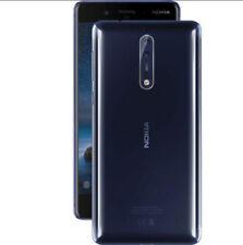 Nokia 8 TA-1052 Polished BLUE (FACTORY UNLOCKED) Dual Sim | Camera Issue