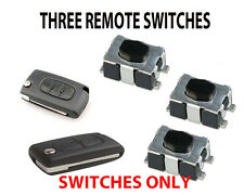 3 FIAT SCUDO  FLIP KEY FOB REMOTE NEW REPAIR SWITCHES
