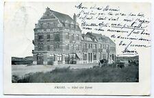 CPA - Carte Postale - Belgique - Knocke - Hôtel des Dunes - 1904 (SVM12075)