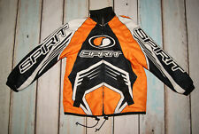 "Scott Leathers Kids Boys Motorcross Spirit Off Road Jacket Size 37"" Chest Immacu"