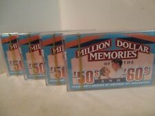 4 Cassette MINT Readers Digest KRC-035 Vintage 1998 MILLION DOLLAR MEMORIES 410